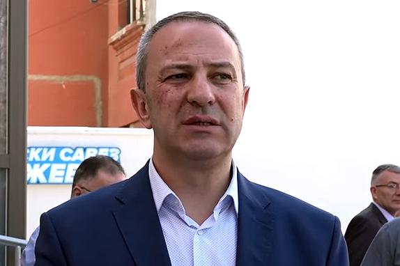 Predsednik opštine Knjaževac Milan Đokić