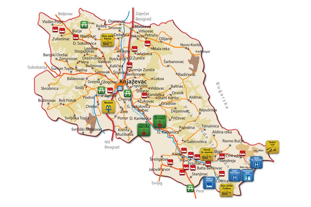 knjazevac mapa 2