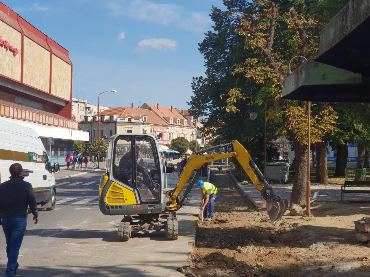 Novo lice Knjaževca – rekonstrukcija Spomen parka