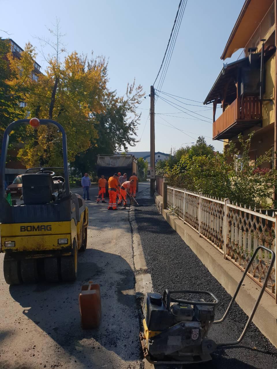 Izgradnja trotoara u ulici Vojvode Stepe