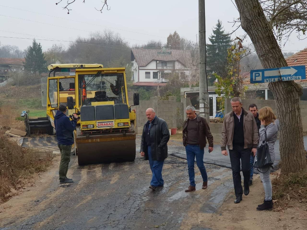 Predsednik opštine Knjaževac obilazi radove