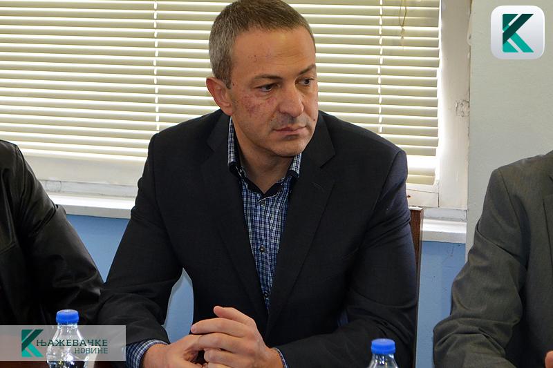 Predsednik opštine Knjaževac Milan Đokić, foto: Knjaževačke novine
