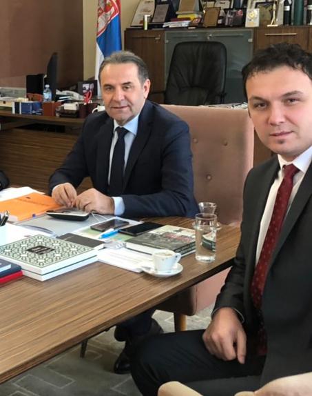 RAZVOJ TURIZMA: Stevanović se sastao sa ministrom Ljajićem