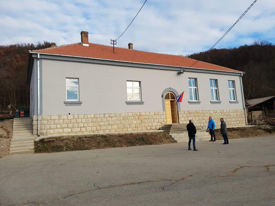 Proslavom obeležena završnica rekonstrukcije seoskog doma u Kaličini