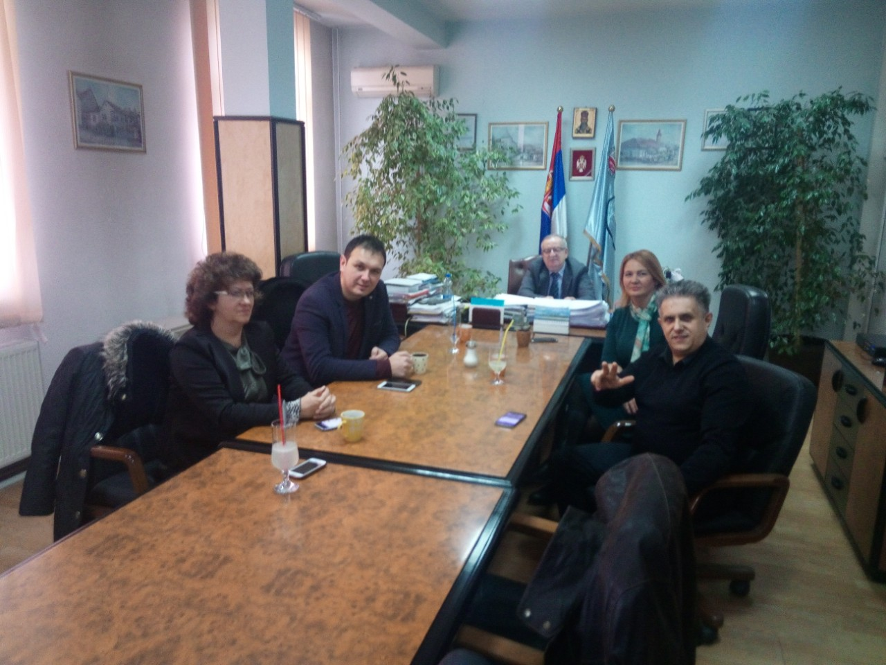 Zamenik predsednika SO Knjaževac Igor Stevanović u poseti Kosovu
