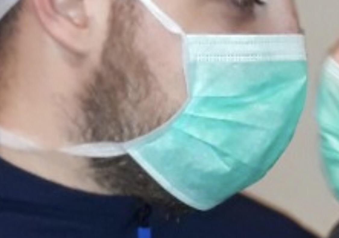 Maska, grip, foto: Milena Nikolić, Knjaževačke novine