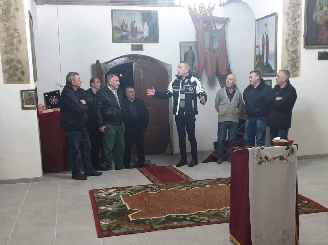 Predsednik opštine Knjaževac obišao obnovljeni hram Svetog Ilije u Bučju
