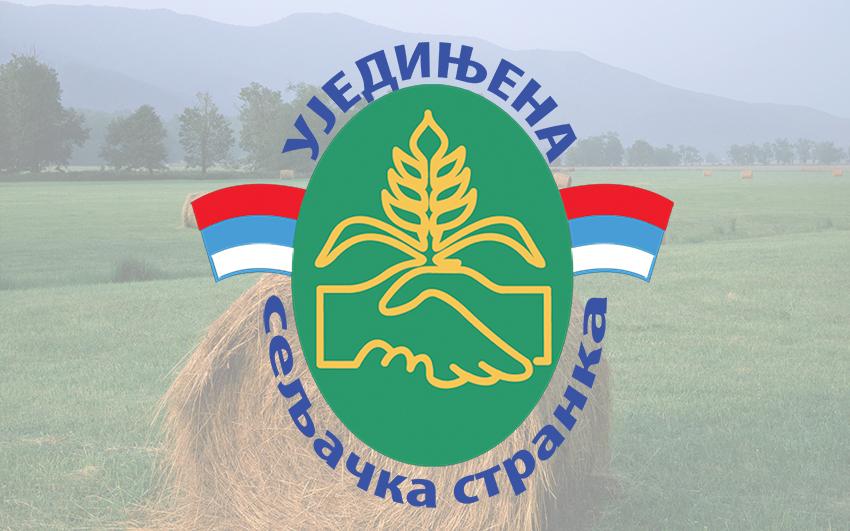 Saopštenje Ujedinjene seljačke stranke povodom novonastale situacije u Srbiji