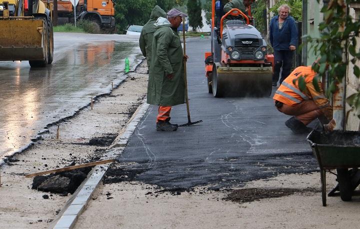 Popravka saobraćajnica u Knjaževcu