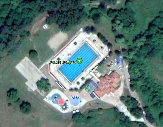 Bazen Banjica, foto: Google Maps