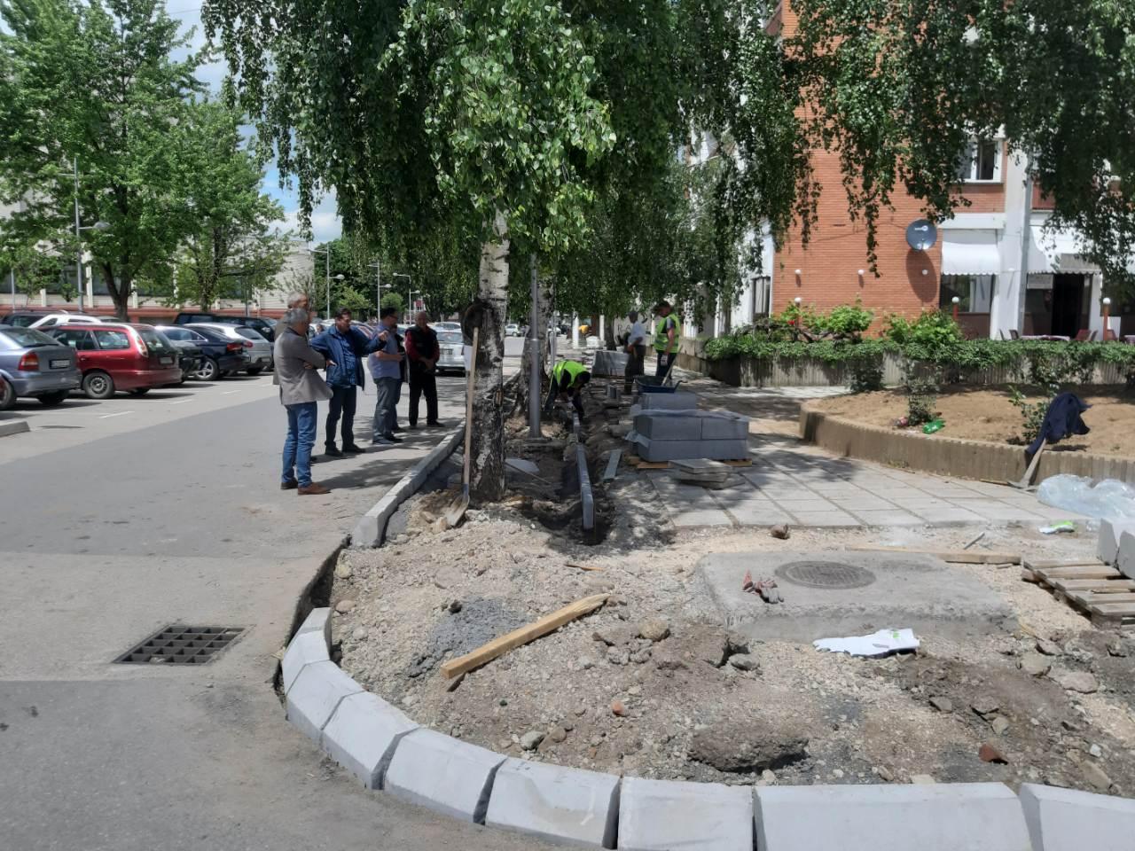 Radovi u ulici Branka Radičevića, foto: A.S.