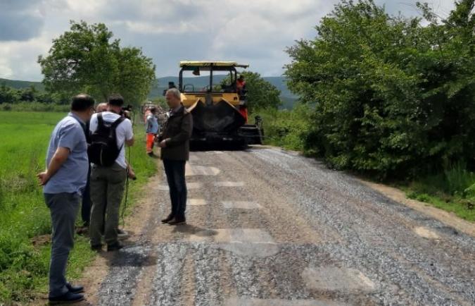 Izgradnja puta, foto: A.S.