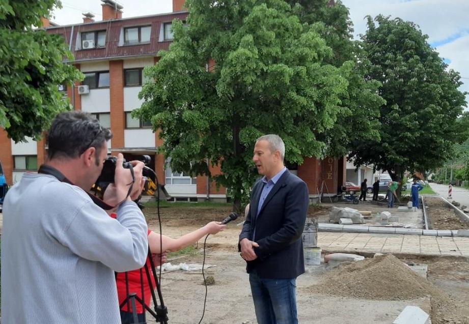 Predsednik opštine Milan Đokić, obilazak, foto: A.S.