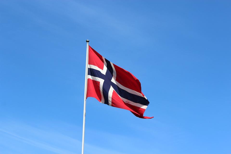 Norveška zastava, ilustracija, foto: Simon Stones, pixabay