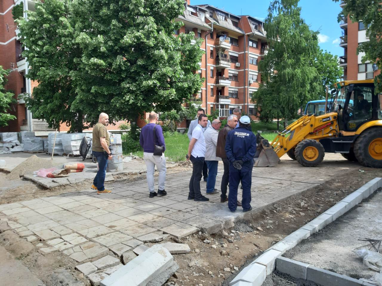 Naselje Devete brigade u Knjaževcu dobija potpuno novi izgled (FOTO)