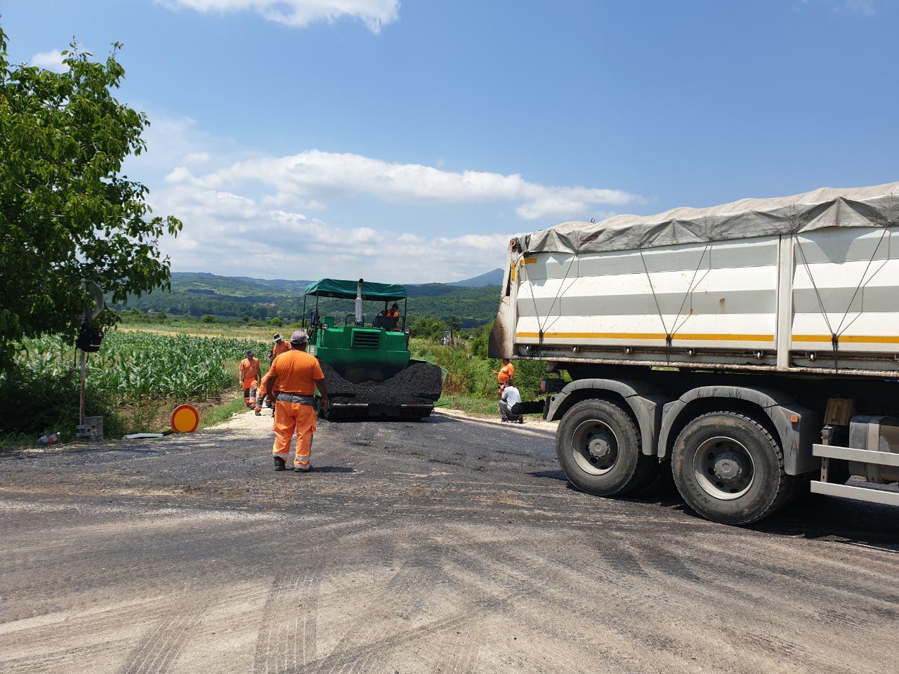 Radovi, asfaltiranje, foto: M.N.