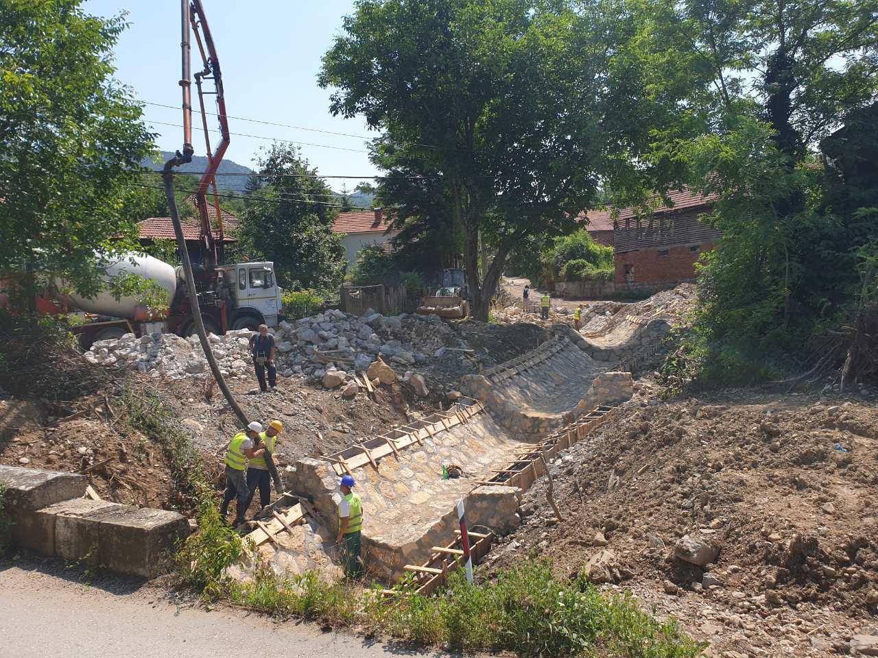 Regulacija potoka, foto: M.N.