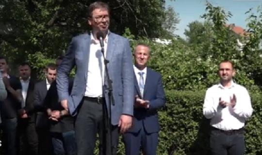 Predsednik Srbije Aleksandar Vučić posetio Knjaževac