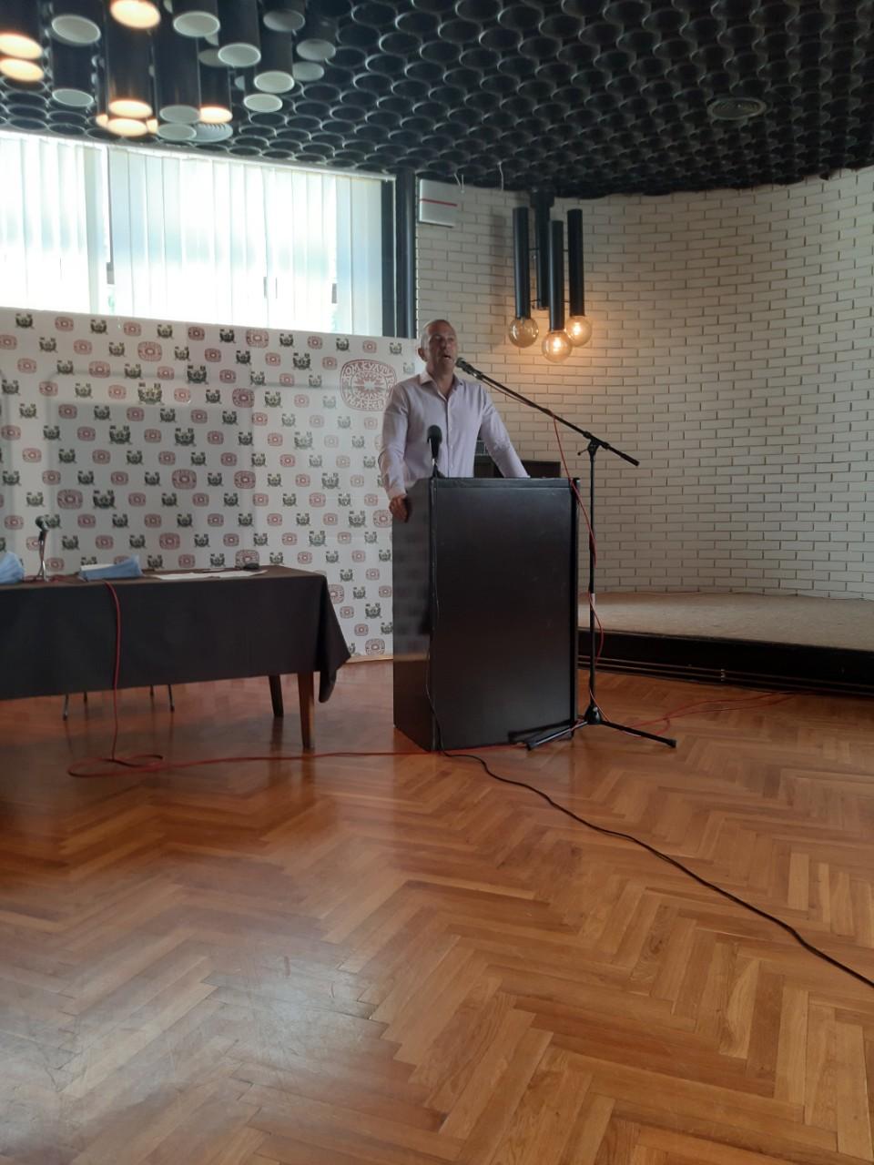 Obraćanje predsednika opštine, foto: A.S.