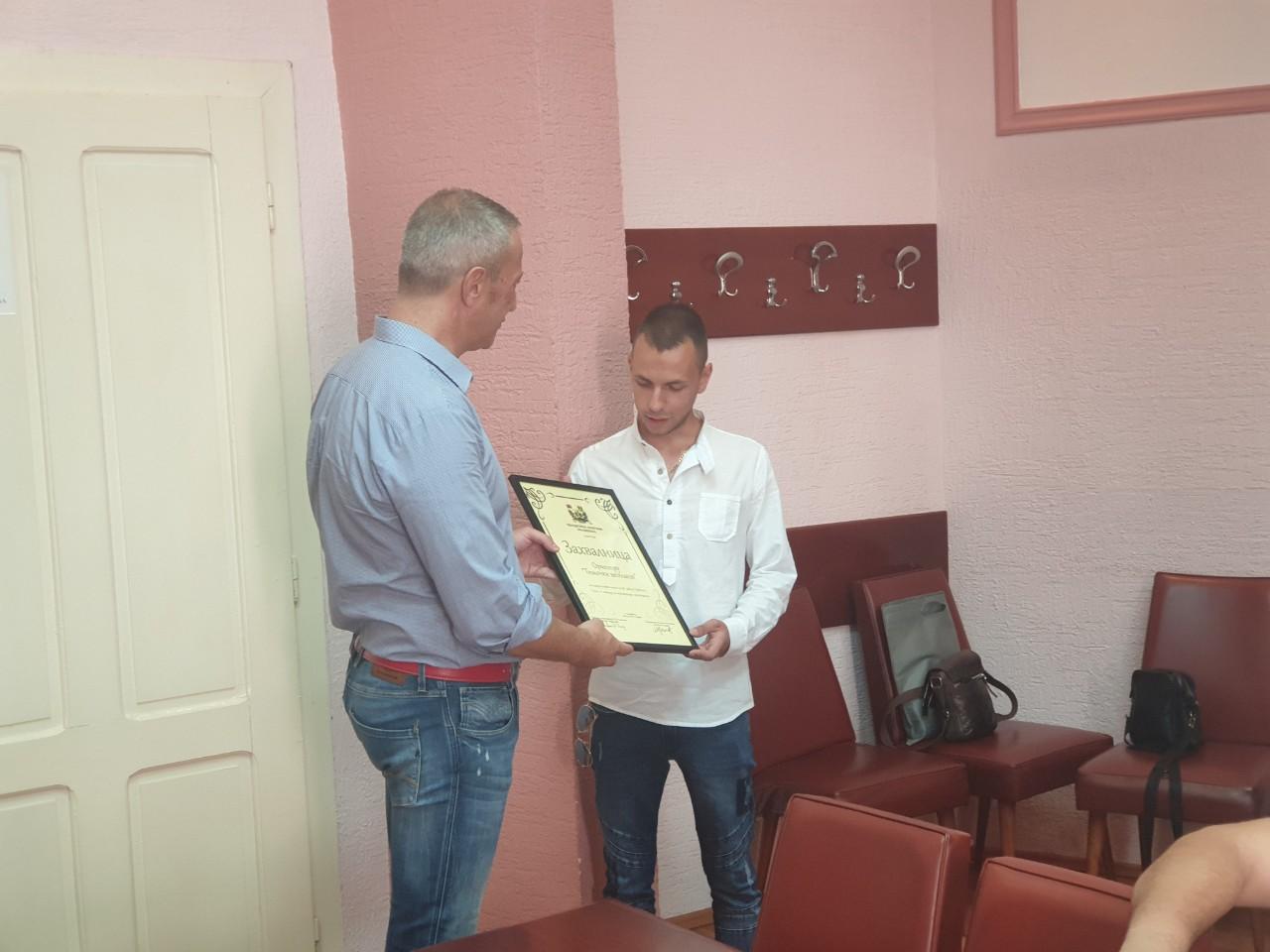 """,,Timočki veseljaci"""" na prijemu kod predsednika opštine Knjaževac"""