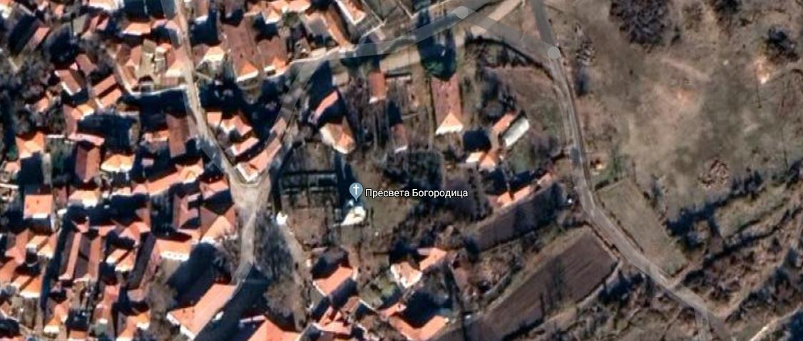 Crkva, satelit, Google