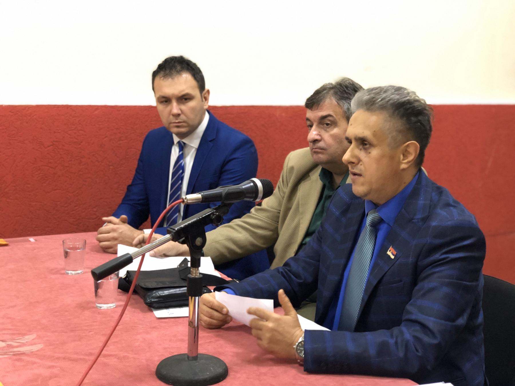 Stevanović (levo), Milković (u sredini), Miletić (desno), foto: Knjaževačke novine