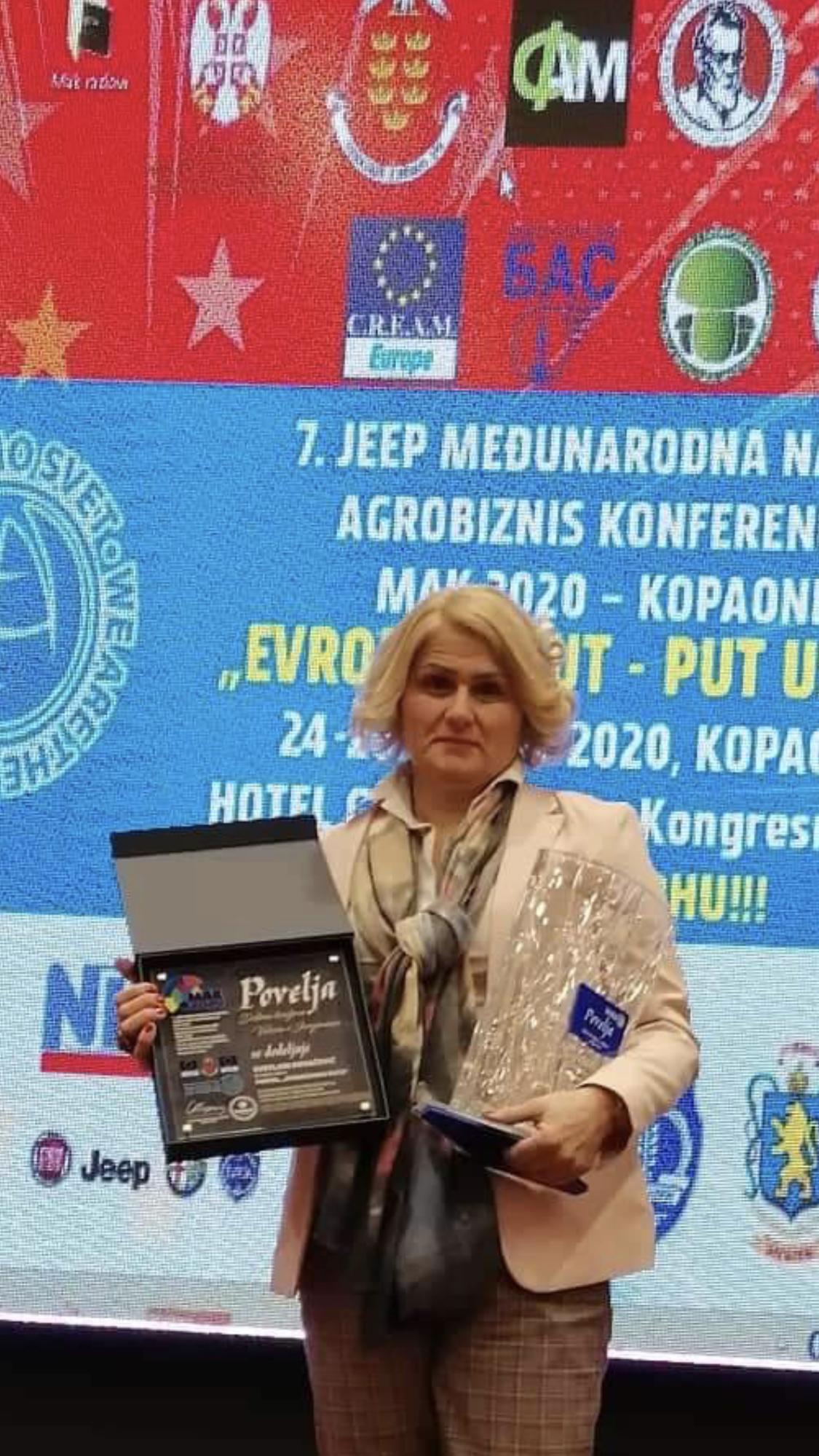 """Urednik portala ,,Domaćinska kuća"""" Svetlana Kovačević"""