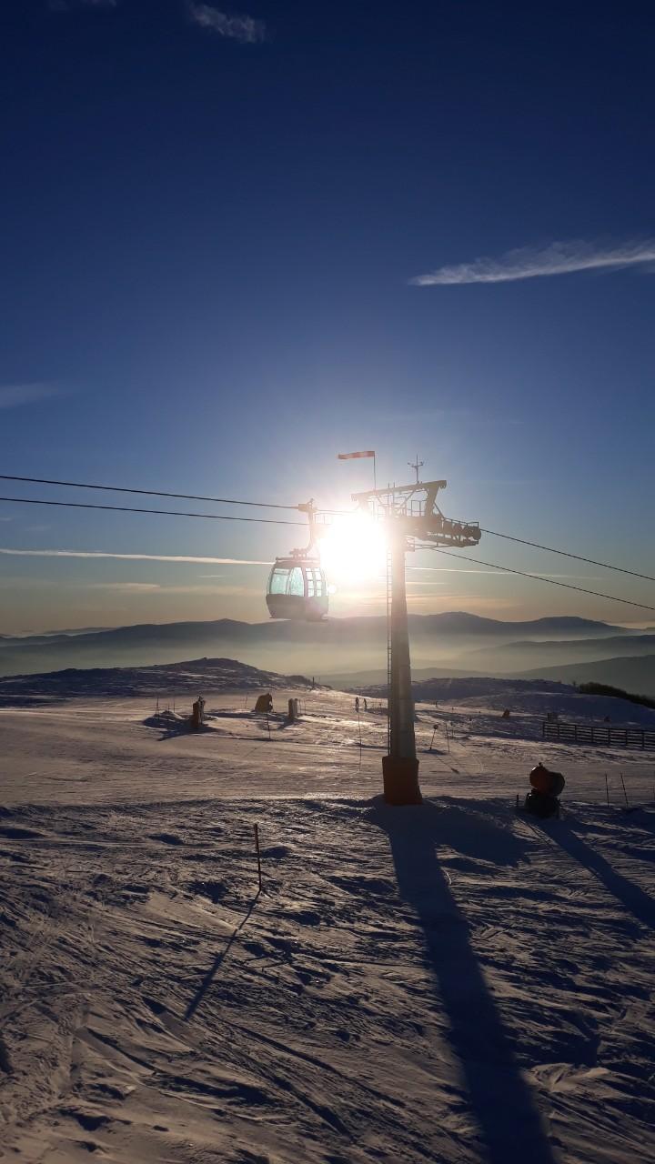 Ski staza, foto: M.S. Knjaževačke novine