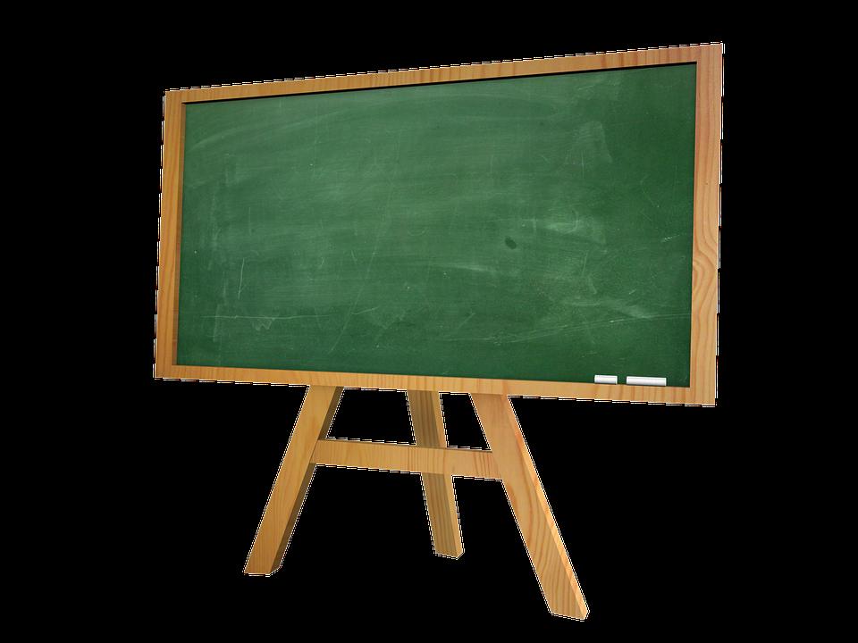 Školska tabla, ilustracija, Pixabay