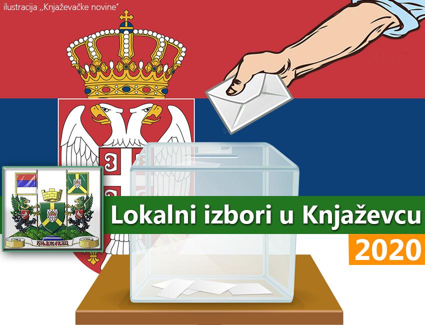 Lokalni izbori Knjaževac 2020, ilustracija