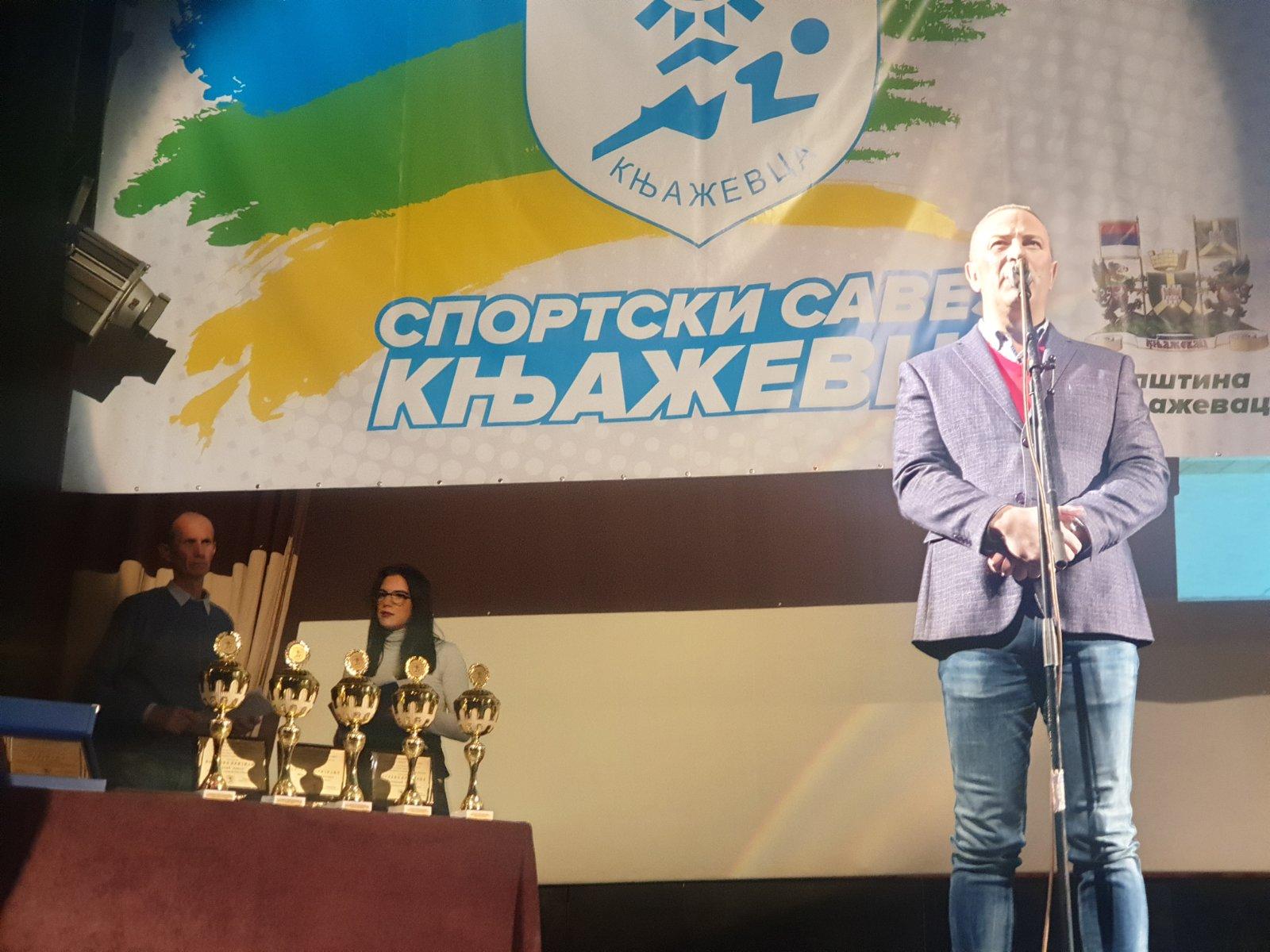 Obraćanje predsednika opštine Knjaževac Milana Đokića, foto: N.M.