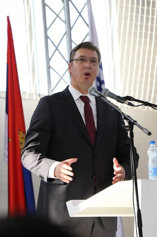 Predsednik Vučić, foto: M. Miladinović
