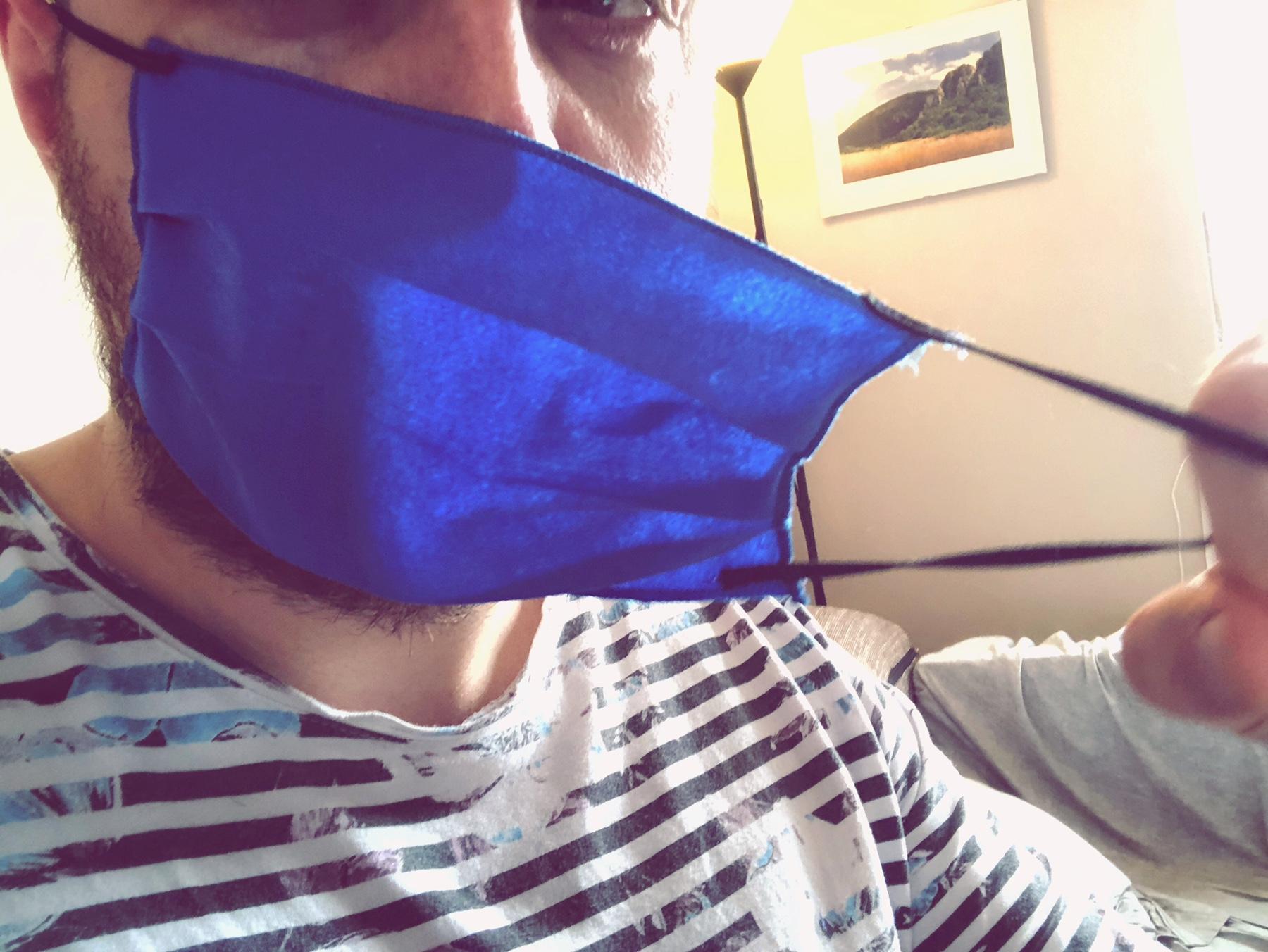 Zaštitna maska, foto: M.M.