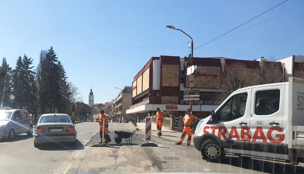 Radovi u Knjaževcu, foto: N.M.