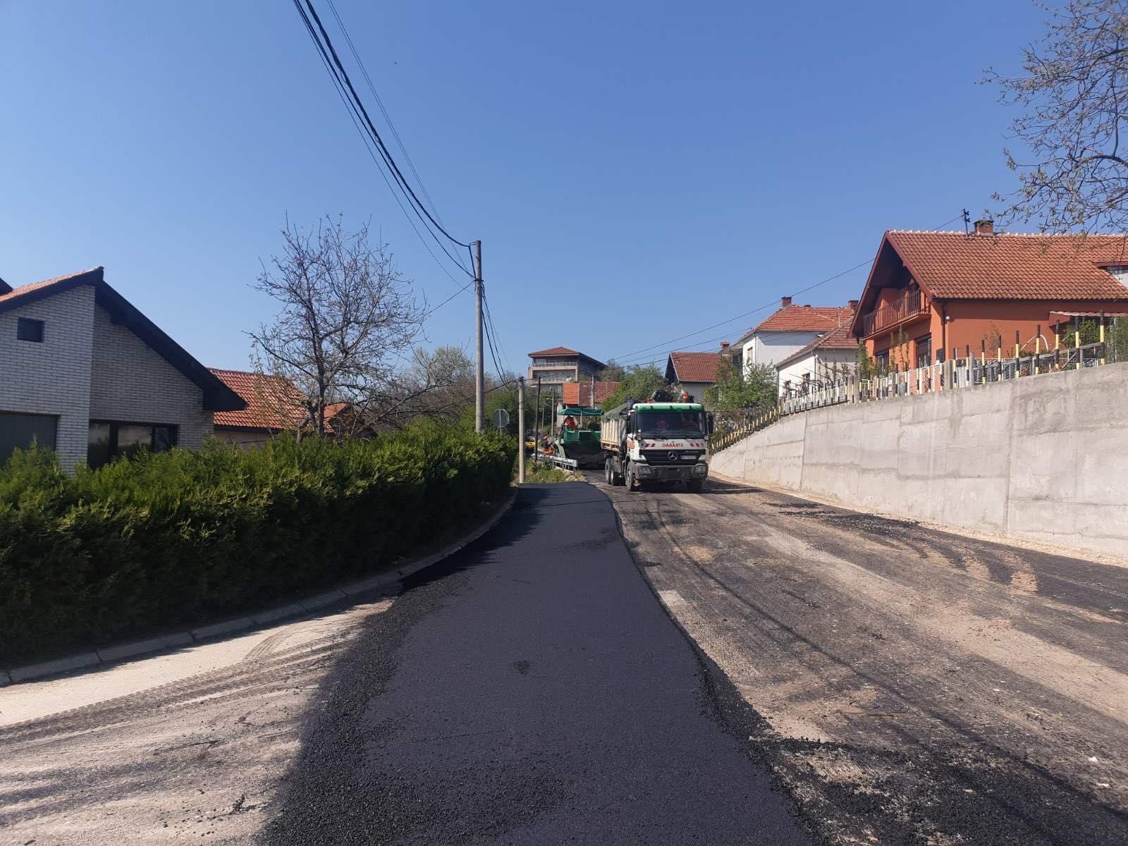 Rekonstrukcija ulice, foto: N.M.