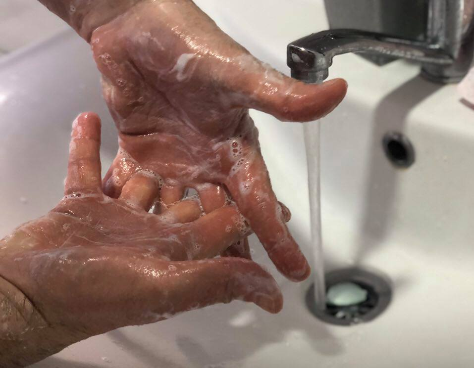 Pranje ruku, ilustracija, foto: Knjaževačke novine