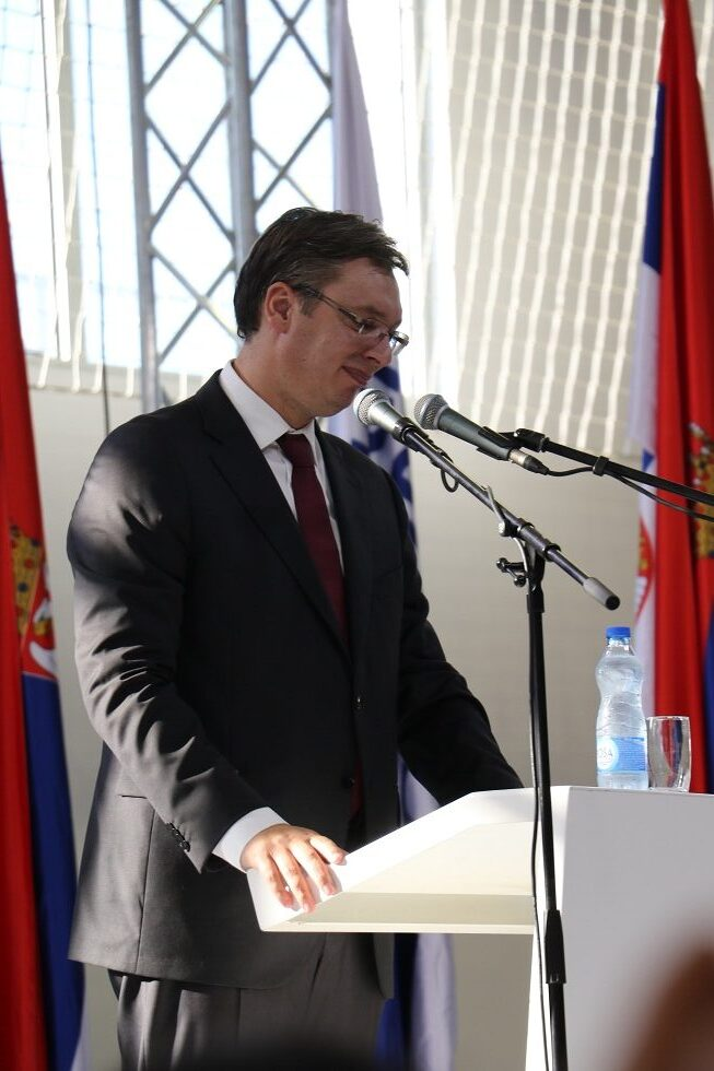 Predsednik Srbije Aleksandar Vučić, foto: Marko Miladinović