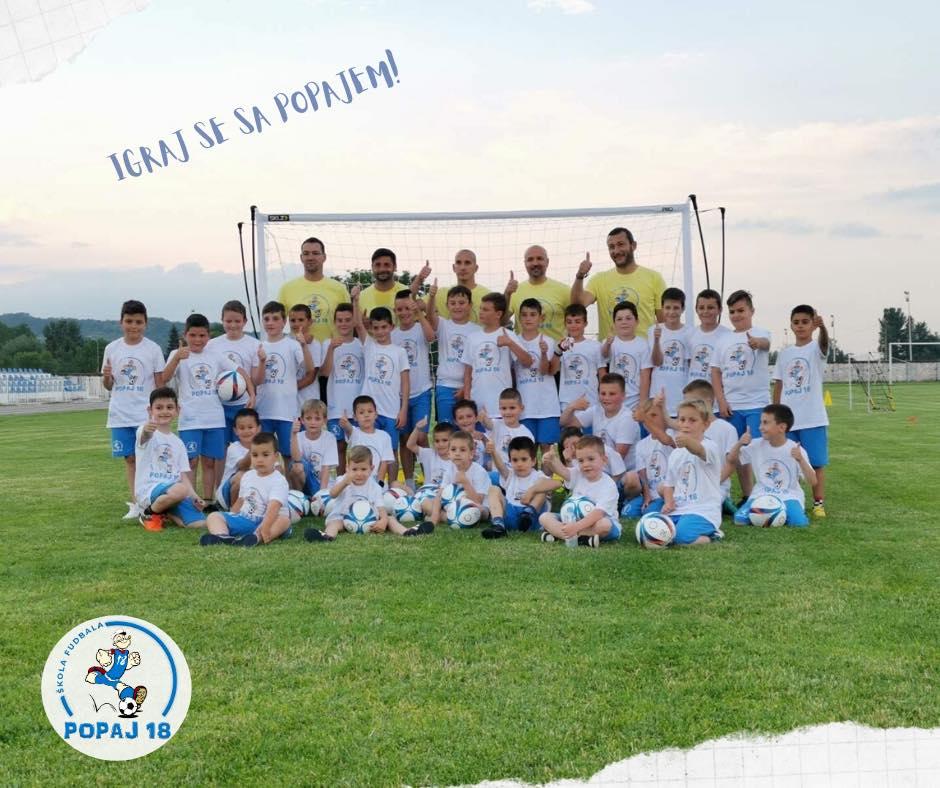 Škola fudbala ,,Popaj 18'', foto: Škola fudbala Popaj 18, zvanična stranica