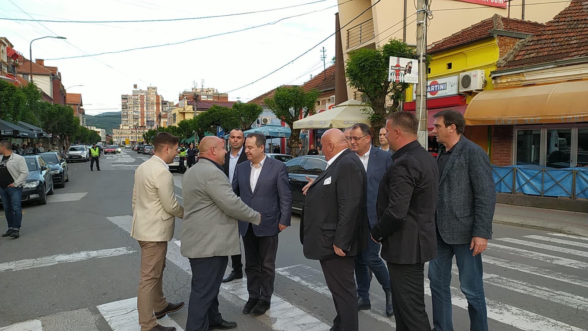 Dačić i Palma u Knjaževcu, doček, foto: R.V.