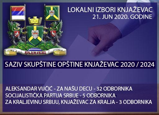 IZBORI KNJAŽEVAC 2020