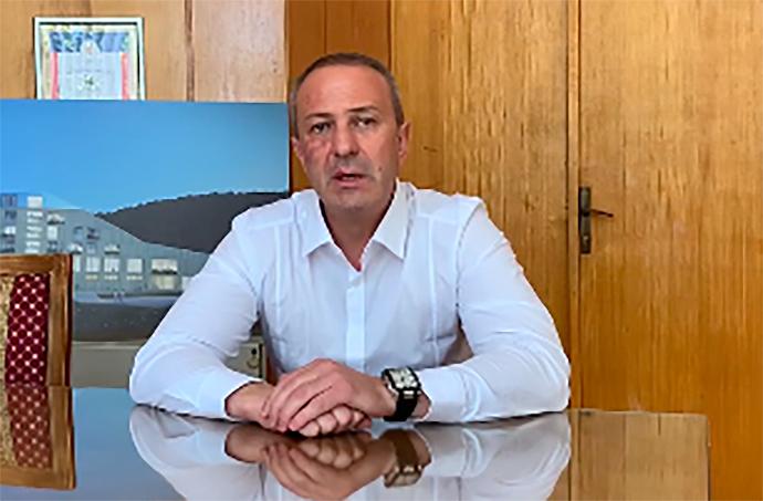 Predsednik opštine Milan Đokić, foto: Opština Knjaževac video