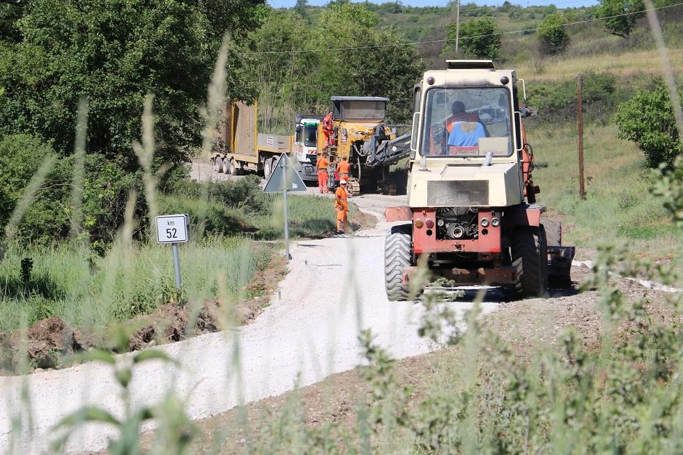 Faza izgradnje puta, foto: Redakcija