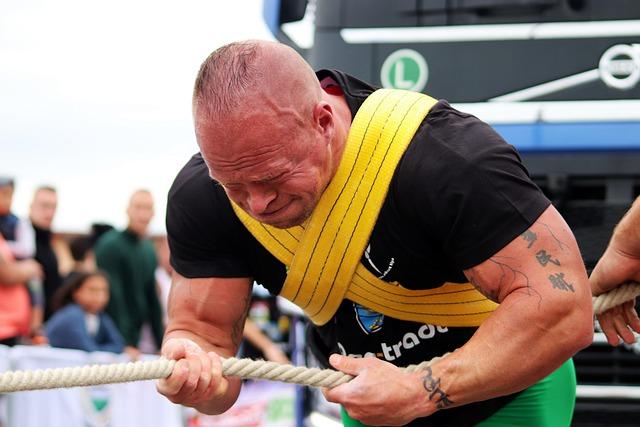 Sport, strongman, ilustracija, preuzeto: Pixabay.com