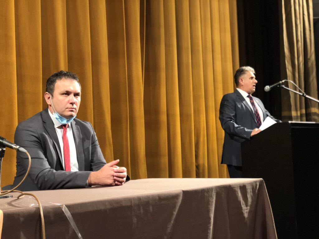 Stevanović i Miletić, foto: Knjaževačke novine, M.M.