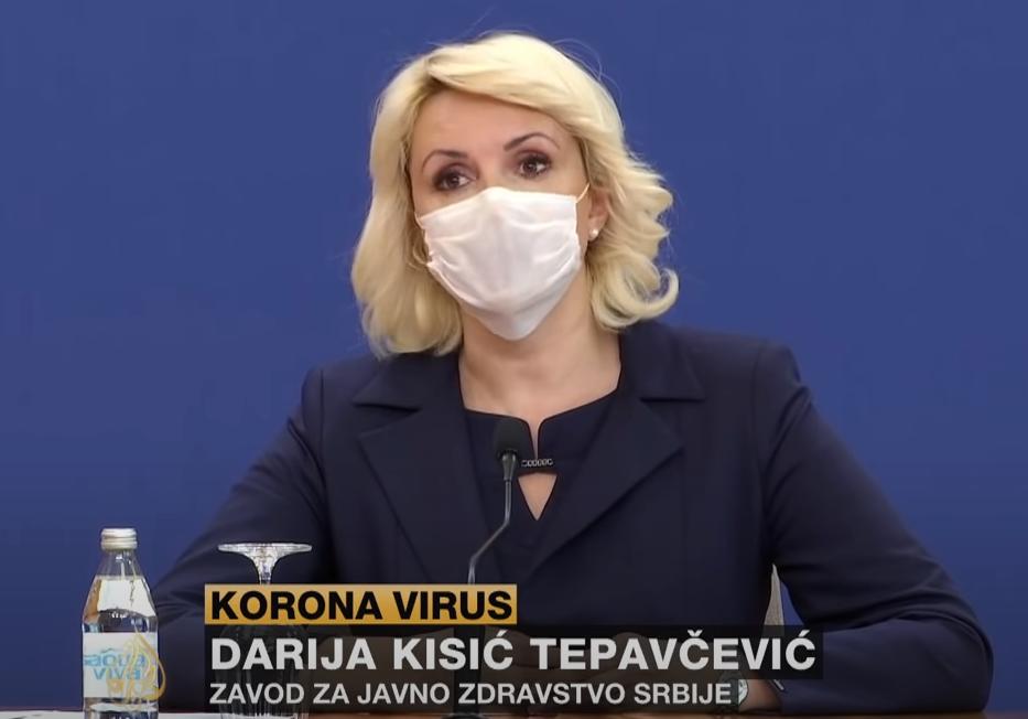 Ministarka Kisić Tepavčević, foto: Aljazeera Balkans, youtube prilog
