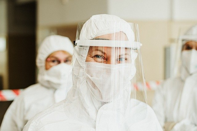 Korona virus, ilustracija, foto: Pixabay.com