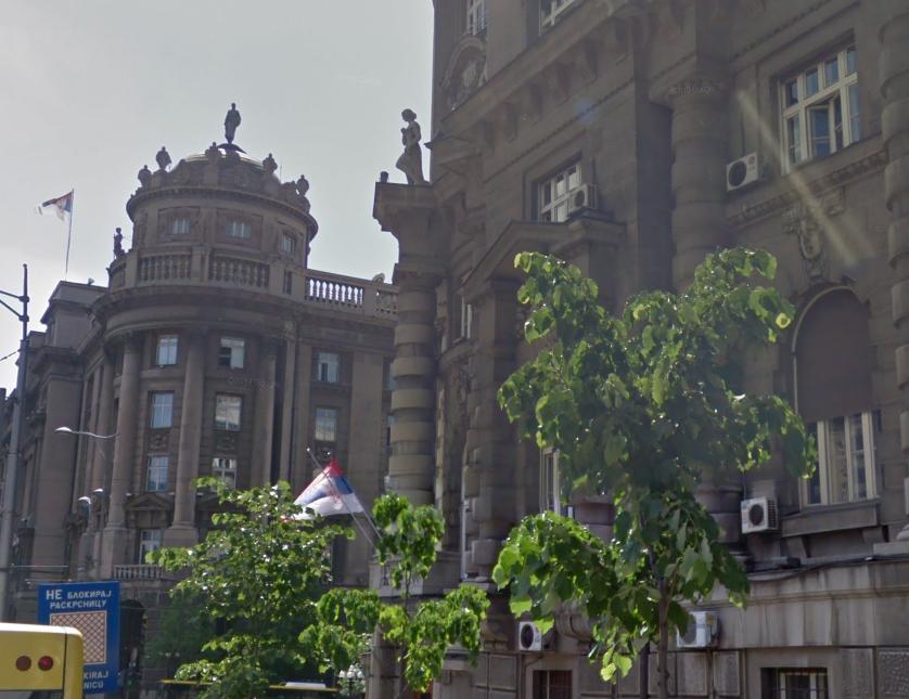 Vlada Srbije, foto: Google maps