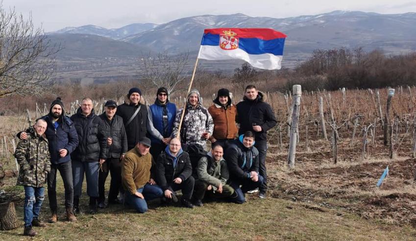 U vinogradu porodice Stevanović, foto: privatna arhiva