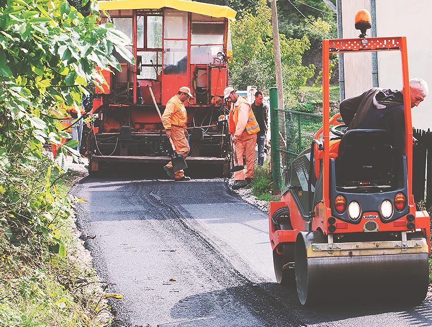 Ilustracija, rekonstrukcija puteva, foto: Knjaževačke novine
