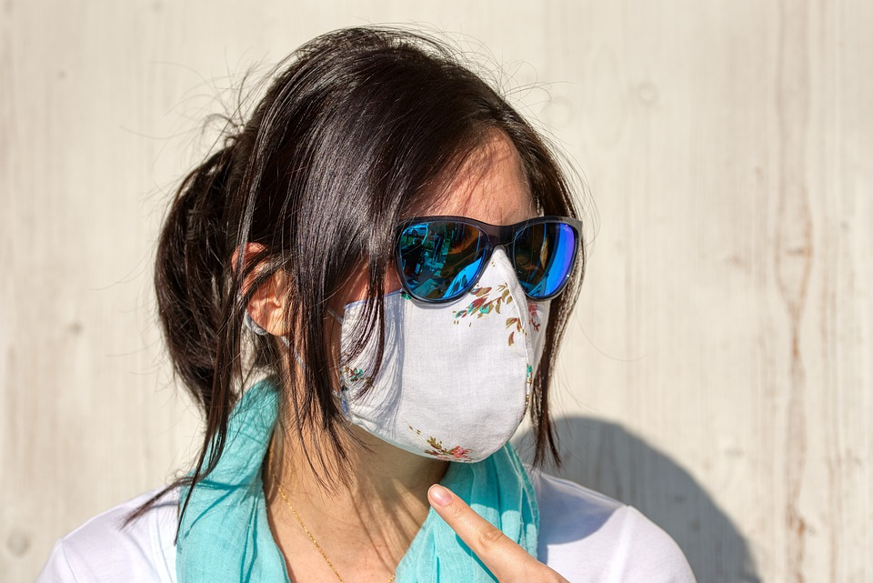 Ilustracija, zaštitna maska, pixabay